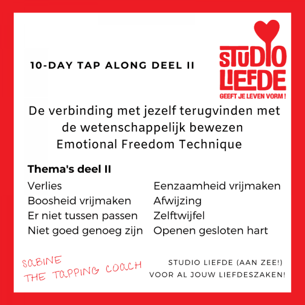 The Tapping Coach - 10-Day Tap Along deel 2