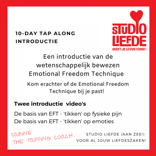 The Tapping Coach introductie EFT